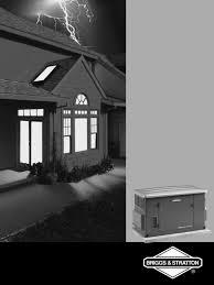 briggs u0026 stratton portable generator 040229 user guide