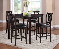 homelegance tristan 5pc counter height dinette set espresso 2559