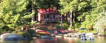 lakeside cottage on trout lake white pillars lodging hermon ny