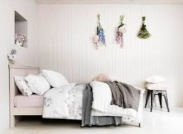 country homes and interiors days room pastel rose petal bedding