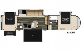 5th wheels with 2 bedrooms home design styles