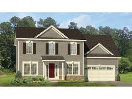 traditional 2 story house plans home plan homepw77064 is a gorgeous 2056 sq ft 2 story 4 bedroom