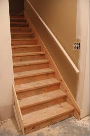 beautiful basement stairs finishing ideas painted basement steps