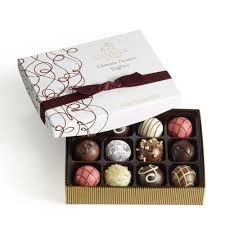 halloween chocolate balls 12 pc dark chocolate truffles godiva