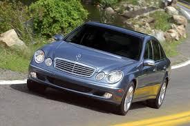 2003 mercedes e320 review 2003 mercedes e class overview cars com