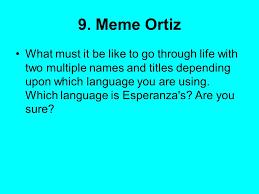 Meme Ortiz - the house on mango street sandra cisneros vignette a vignette is a