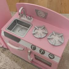 pink retro kitchen collection kidkraft pink retro kitchen and refrigerator play set target