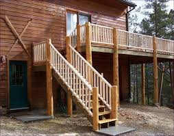 outdoor awesome deck steps plans outdoor stair railing deck