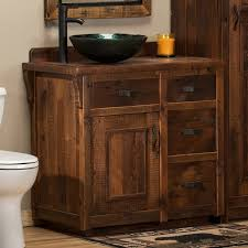 Barnwood Bathroom Vanity Reclaimed Barn Wood Vanity Rustic Barnwood Bathroom Vanity