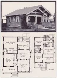 Bungalow Garage Plans 1920s Craftsman Bungalow House Plans Luxihome