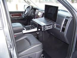 Computer Desk For Car Prodesks Enforcer Ii Vehicle Laptop Computer Stand