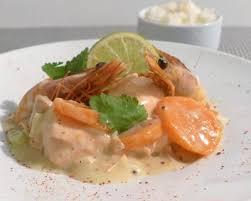 moutarde blanche en cuisine recette blanquette de saumon sauce blanche à la moutarde à l ancienne