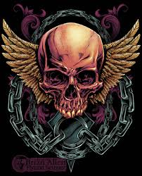 skull designs free clip free clip on