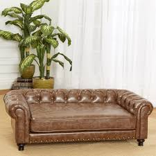 wentworth tufted pet sofa the green head