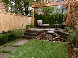 Home And Yard Design by Narrow Backyard Design Ideas Small Yard Design Ideas Landscaping