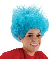 thing 1 u0026 thing 2 halloween costumes thing one thing two blue wig dr seuss the cat in the hat in dr