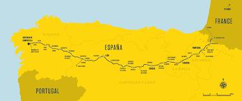 Camino Frances Map by I U0027ll Push You