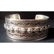 metal bracelet images Bajra white metal bracelet jpg