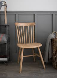 occasional spindle back chair oak garden trading