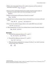 mkrchemistry atoms and their isotopes worksheet