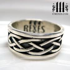 celtic knot ring celtic knot silver soul ring 925 sterling silver