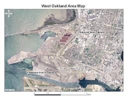 Oakland Ca Map West Oakland Study