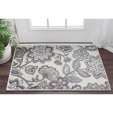 2 x 3 accent rugs alise rugs carrington transitional floral scatter rug 2 x 3 2