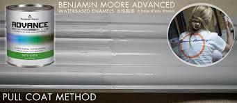 waterbased oil enamel review advance by benjamin moore paint vs