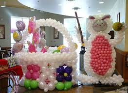Easter Decorations With Balloons by Innovate Easter Festival Balloons U0026 Wreaths Decoration Designs