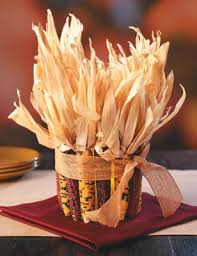 how to make centerpieces how to make an indian corn centerpiece thanksgiving decorations
