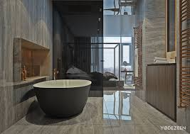 Modern Apartment Bathroom - a modern apartment with classical features