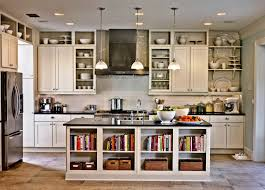 kitchen bookshelf ideas unique bookcases in kitchen bookshelves with cabinets for islands