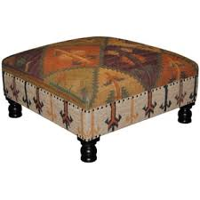 rustic ottomans u0026 storage ottomans for less overstock com
