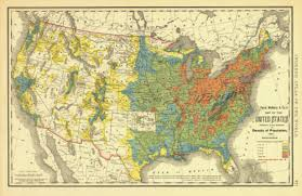 map us states population historical map of the united states population density 1890
