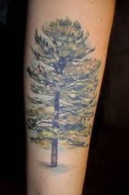 big green tree tattoos pm