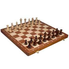 amazon com chess set tournament staunton complete no 6 board