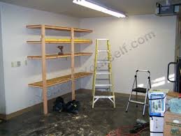 how to build basic garage storage shelving handyman tips and