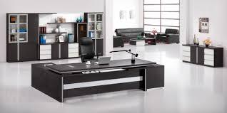 office desk with credenza delightful black wooden black office desk brown rectangle wooden