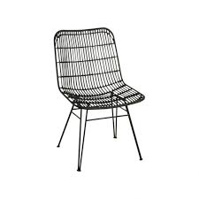 Black Metal Chairs Outdoor Jane Chair Outdoor Black One World Interiors Chairs Stools