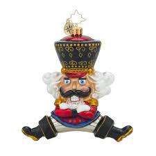 christopher radko bolshoi guard russian nutcracker ornament