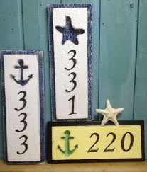 decorative house number signs astonish house number signs home