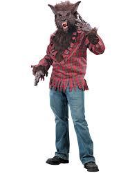 cl132 werewolf halloween costume big bad wolf man animal monster