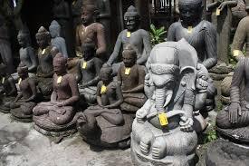 bali cheap antique buddha garden statues and garden statue