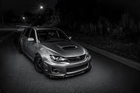 silver subaru wrx subaru impreza wrx sti silver night road front light hd wallpaper