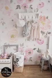Vintage Nursery Decor Vintage Floral Wallpaper Removable Wall Mural Vintage