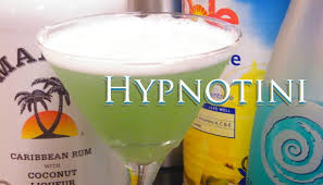 martini pineapple hypnotini recipe aka hypnotic martini or hpnotiq martini