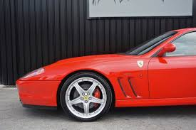 ferrari f1 factory used ferrari 575m f1 rosso corsa with tan leather fiorano