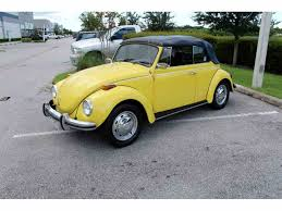 yellow baja bug 1971 volkswagen beetle for sale on classiccars com