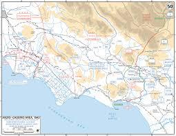 Regional Map Of Italy by Map Of Italy Anzio Cassino Region May 1944
