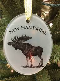 the write stuff design new hampshire ceramic ornaments